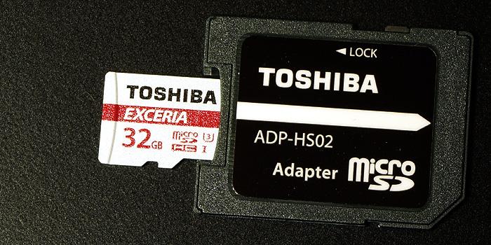 東芝 EXCERIA microSDHC 32GB(THN-M302R0320EA)レビュー