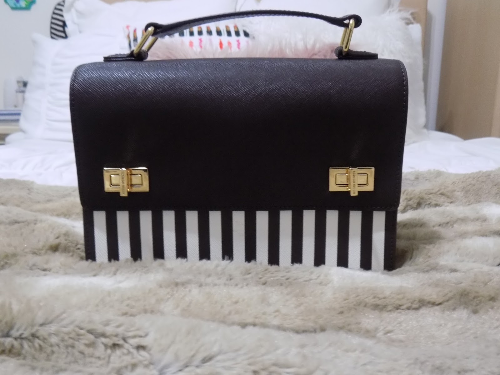 It Wasn T Really Like Anything Else In My Collection And I Loved That Had The Traditional Henri Bendel Stripes Without Being Truly Overing