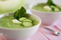 La soupe de concombre