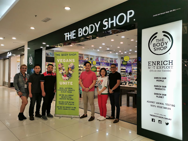 SASSH x The Body Shop