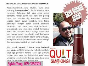 Bagaimana Vivix Bantu Menghilangkan Ketagihan Merokok : Himpunan Testimonial