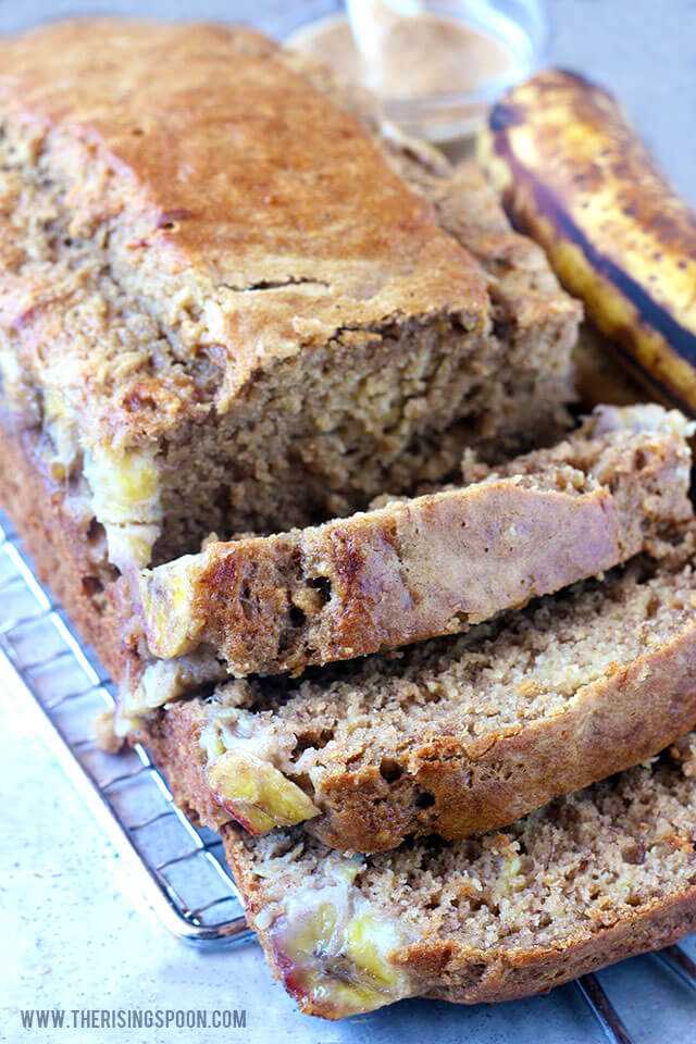 Top 10 Most Popular Recipes On The Rising Spoon in 2017: Healthy Banana Bread Recipe