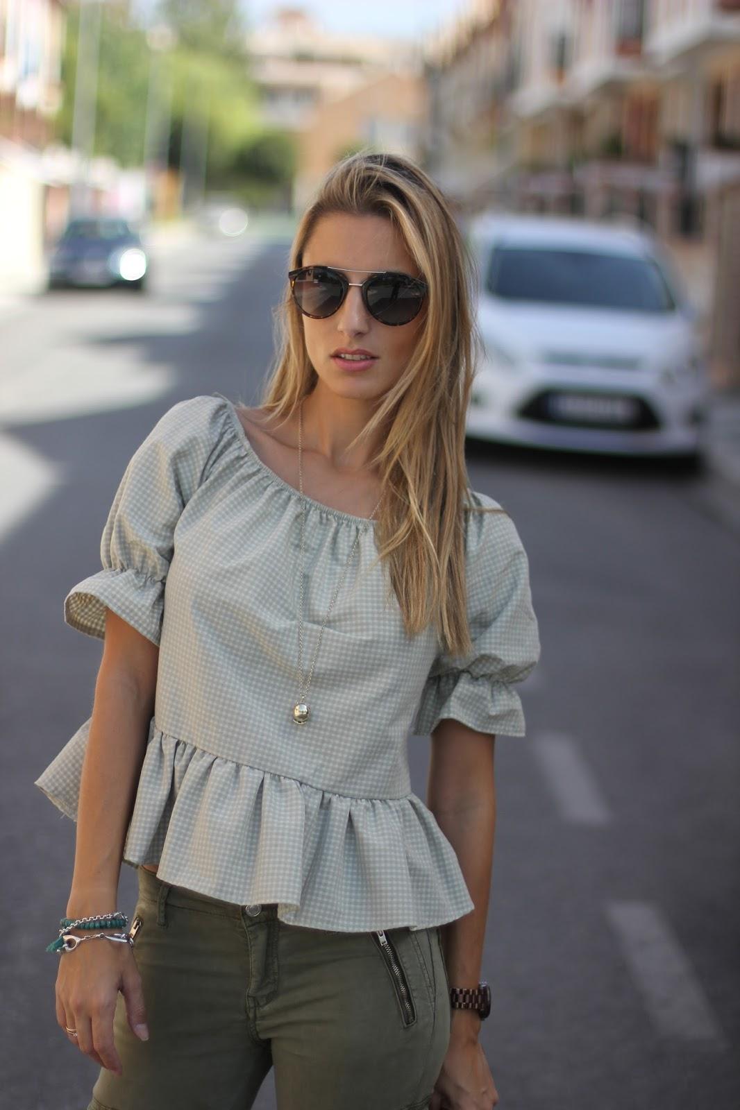 outfit gafas de sol roberto