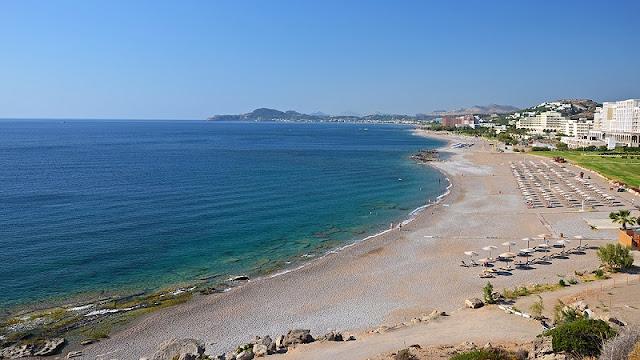 Praia de Faliraki, Rodes