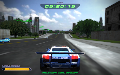 game Police Supercars Racing