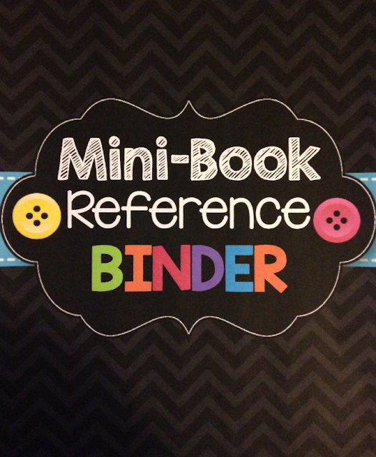 Mini-Book Binder (The Classroom Sparrow)