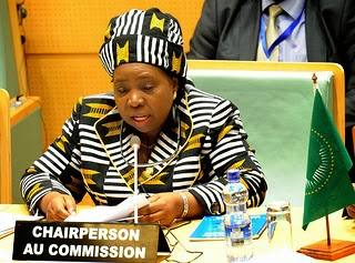 Chairperson of the African Union Commission DE Dr. Nkosazana Dlamini Zuma