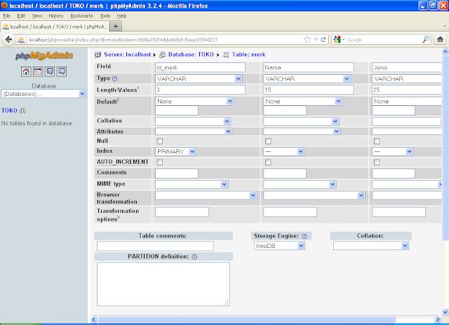 MY TECH: CARA MEMBUAT DATABASE DENGAN MySQL