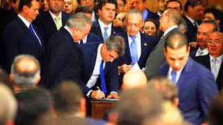 La gestión de Dilma ya había solicitado una modificación en la estimación de la brecha fiscalpara el 2016, inicialmente calculada en un superávit de de 24 mil millones de reales (casi USD 7 mil millones), pero ahora recalculada en un déficit de 96 mil millones de reales (unos USD 27 mil millones). Según reportó Estadão, la gestión de Temer continuará con dicho proyecto, pero presentará un pedido ante el Congreso para incluir una enmienda que permita superar el déficit calculado y reducir aún más la meta impositiva.