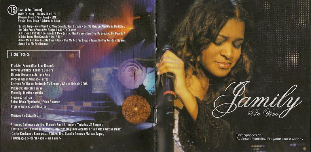 cd jamily ao vivo 2008