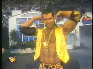 WWF / WWE - IN YOUR HOUSE 7 - GOOD FRIENDS BETTER ENEMIES - Scott 'Razor Ramon' Hall wouldn't be seen on WWF TV again until 6 years after losing to Vader