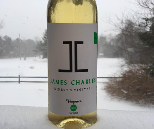 James Charles 2014 Viognier