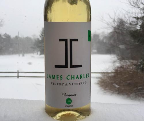 James Charles 2014 Viognier
