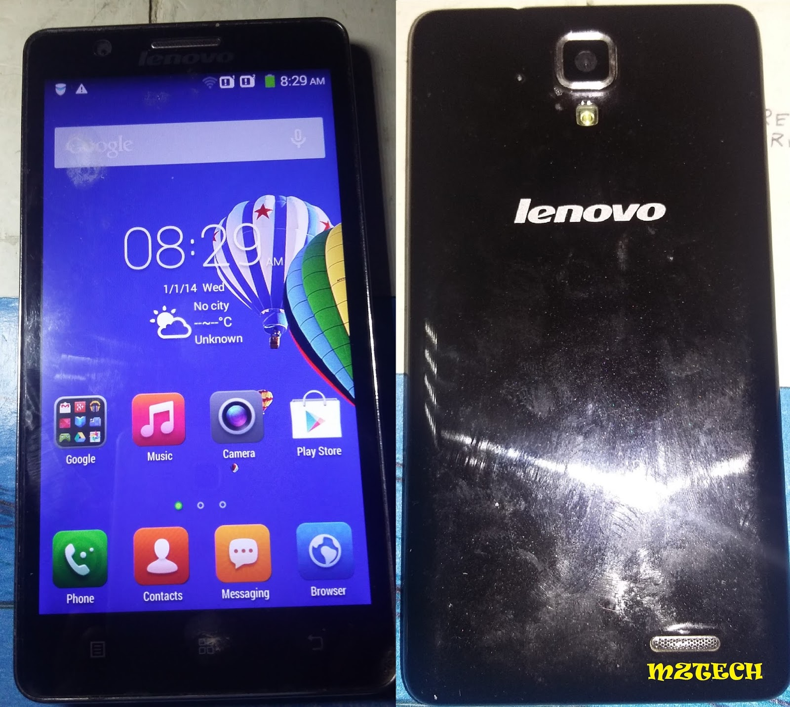 Phone Lenovo A536: reviews, specifications 96