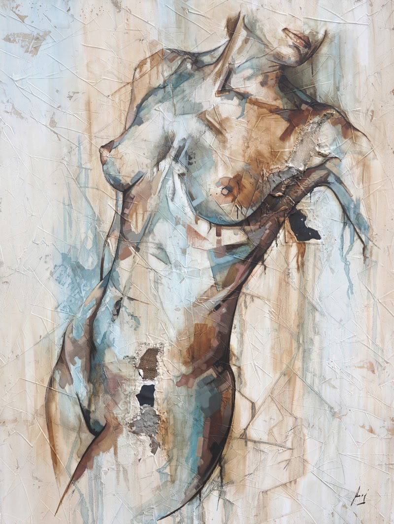 Nude Figurative Paintings by Francisco Jose Jimenez.