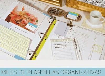 Plantillas de todo tipo para Imprimir  Organizativas y más