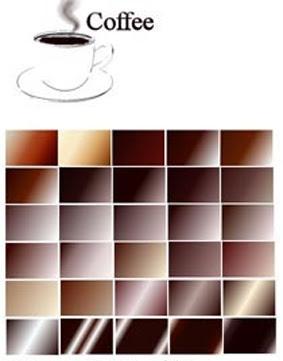 تحميل تدرجات ألون القهوة للفوتوشوب مجاناً, Photoshop Gradients free Download, Coffee Photoshop Gradients free Download