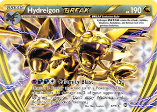 Hydreigon BREAK Steam Siege Pokemon Card