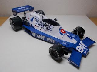 Tyrrell 008  - Patrick Depailler - Monaco GP 1978 (spinler)