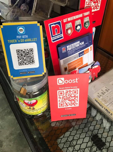 Static QR by Merchant