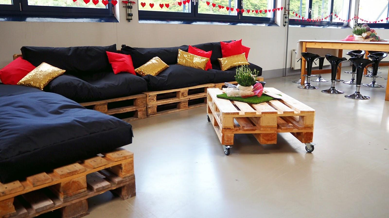Lounge beim Bloggertreffen von addi