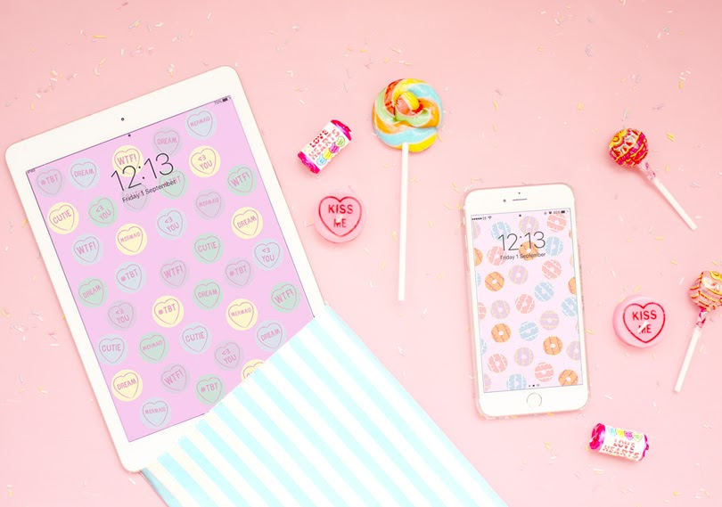 90s sweet biscuit wallpaper mobile tablet