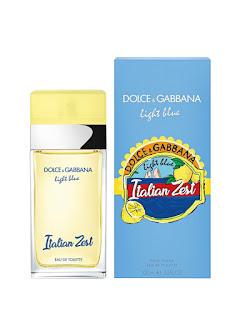 Apa de toaleta dama originala Dolce & Gabbana Light Blue Italian Zest, 100 ml