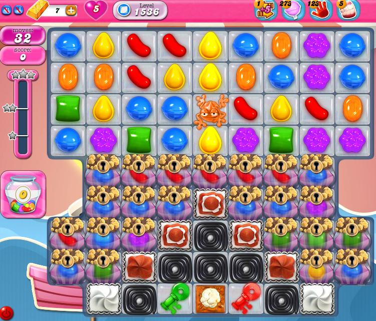 Candy Crush Saga 1536
