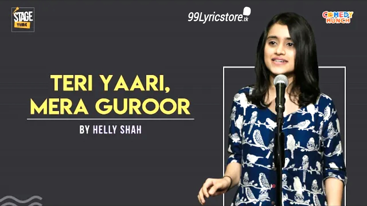 Teri Yaari, Mera Guroor – By Helly Shah | Slam Poetry, The Social house Poetry, TSH Poetry, Shayari, Love Quotes, Quotes for friends, poetry on friend , Dosti Poem, Dosti poetry in Hindi Dosti poem in Hindi, Two line quotes, Dhup mein baarish ho jaise,  Kuch aisi apni yaari hai  Kuch aisi apni yaari hai..., all helly shah poem , Helly shah all poetry, Helly shah ki kahaniya , helly shah image download