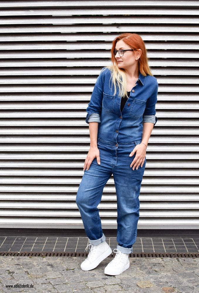 Heidi Klum Mode für Lidl, Jeans Jumsuit von Lidl