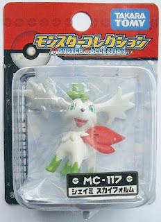 Shaymin figure sky form Takara Tomy Monster Collection MC series
