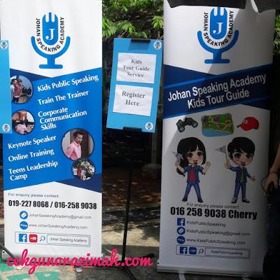 kids public speaking, johan speaking academy, kids tour guide, farm in the city