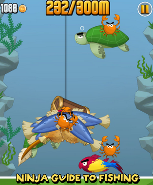 Ninja Fishing - Game Memancing di Android