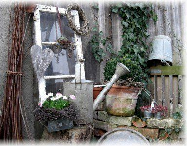 Gartendeko Nostalgisch