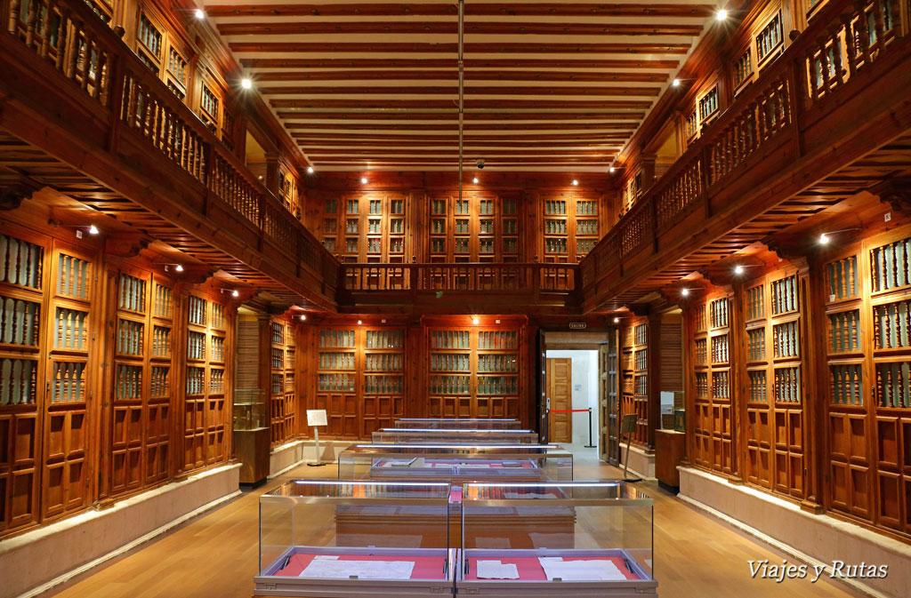 Sala de lectura del archivo general de Simancas