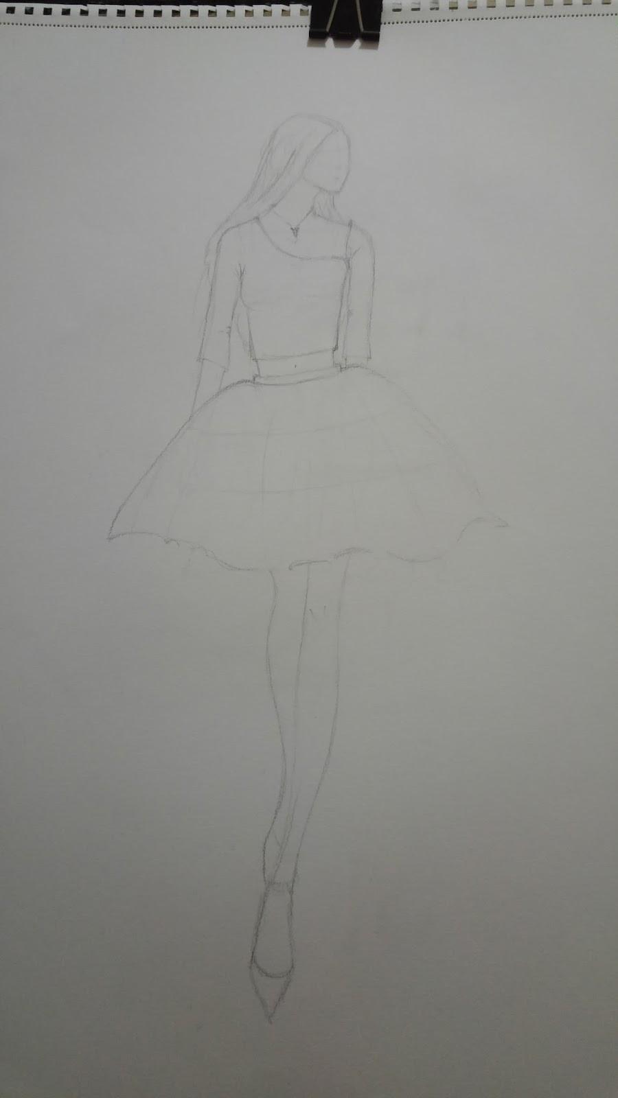 Design By Büşra Stilistlik Kıyafet çizimi Tasarımı Ve Boyama
