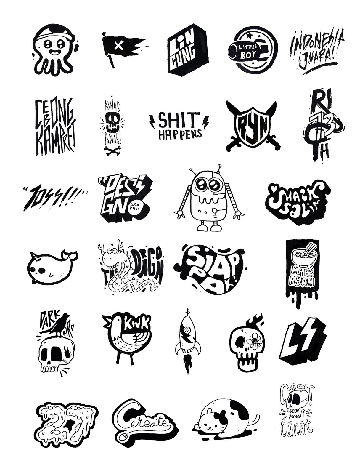 Free download 27 png hand drawn sticker png file
