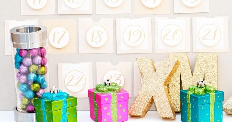 einen weihnachtskalender selber machen advent calendar inspiration with tutorial. Black Bedroom Furniture Sets. Home Design Ideas