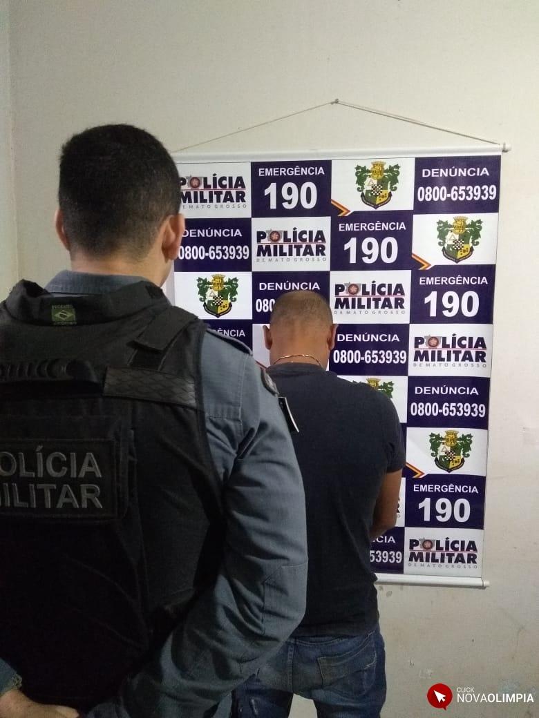 Acusado de homicídio em Alagoas é preso em Nova Olímpia