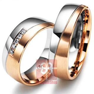 cincin tunangan pernikahan mewah