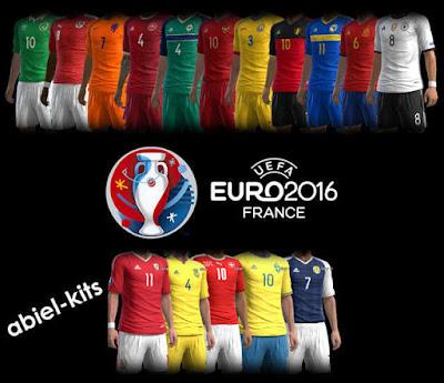 PES 2013 Kitpack Euro 2016