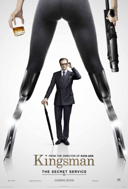 Kingsman Secret Service teaser poster