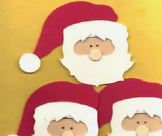 Manualidades De Navidad Charlando En El Patio - Manualidades-navideas-papa-noel