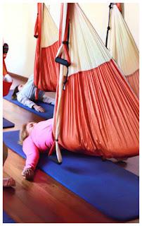 columpio yoga, trapeze, swing, hamac, hamaca