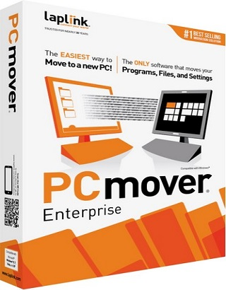 Laplink PCmover Enterprise 10.1.647 poster box cover