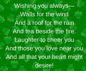 Happy St Patrick's day 2018 poems for kids