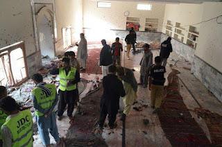 Bomb Explosion Rock Mosque In Southwest Pakistan Killing 7
