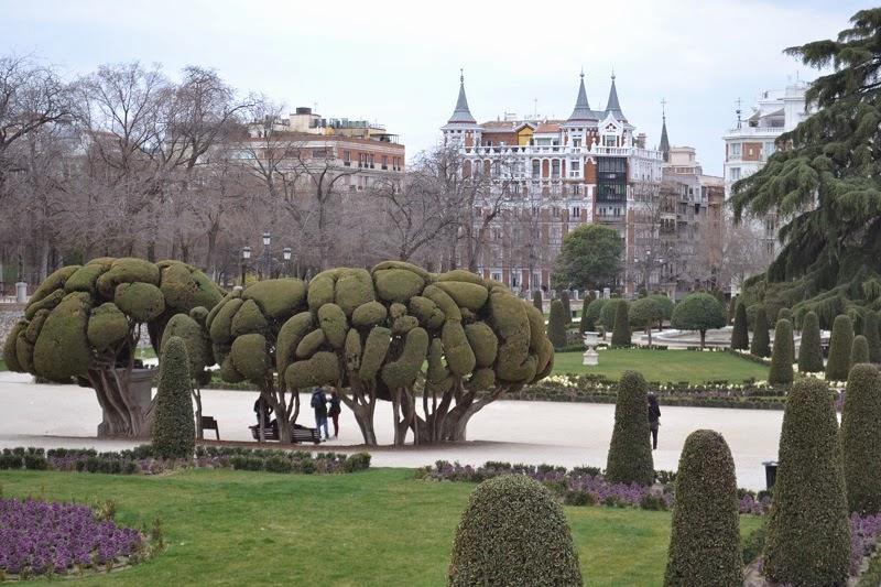 Madrid, Espagne, parc, retiro, prado