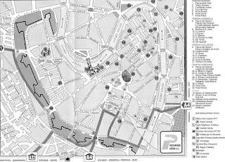 Mapa de Verona.