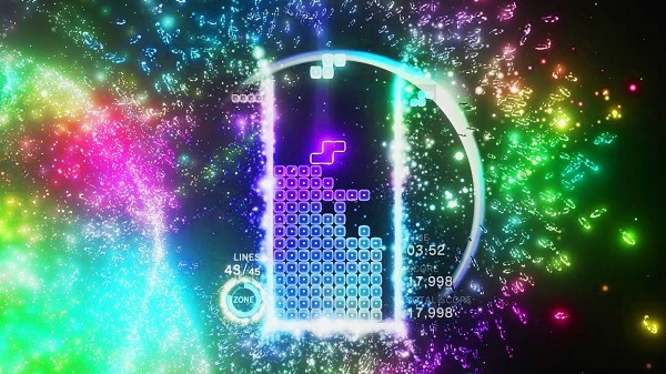 Tetris Effect Gameplay
